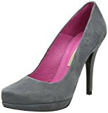 Buffalo London 9669-177 BL KID SUEDE 115880, Scarpe eleganti donna