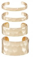 GRIGOLLE 4 PACK - Bracciale - gold-coloured
