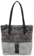 AMELIA - Shopping bag - black