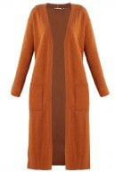 Cardigan - bright cognac