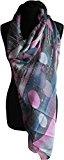 H&G Sciarpa con stampa Ladies Retro cerchi & strisce