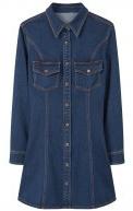 LINA - Vestito di jeans - dark blue