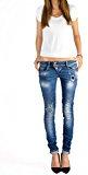 Bestyledberlin Pantaloni Jeans donna, Jeans skinny j03f