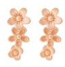 Pieces JULIE SANDLAU Orecchini rose goldcoloured