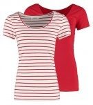 2 PACK - T-shirt basic - white/red/red