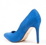 Ideal Shoes–Escarpins effetto camoscio kara