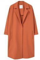 NIKITA - Cappotto classico - pastel orange