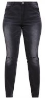 JRFIVE SLIM FIT - Jeans slim fit - dark grey denim