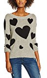 Only Onlalessia L/S Pullover Knt, Felpa Donna