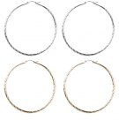 Topshop 2 PACK Orecchini mixed metal