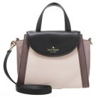 ADRIEN - Borsa a mano - rose cloud/black/porcini
