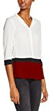 Rinascimento Color Block Collo Coreana, Camicia Donna