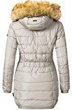 Navahoo picco tempo lungo da donna invernale cappotto Imbottito
