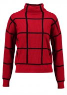 Maglione - red/black