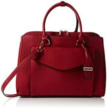 SwankySwansSara Envelope Work - Borse a Tracolla donna , Rosso (Rosso (Burgundy)),