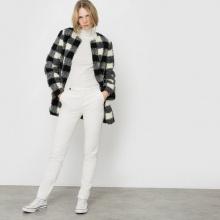 Cappotto con pelliccia sintetica