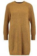 Vestito di maglia - mustard