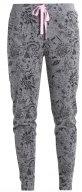 Pantaloni del pigiama - dark grey melange
