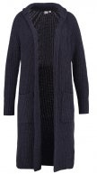Cardigan - navy heather