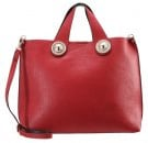 Shopping bag - red black
