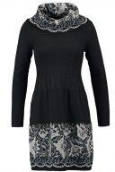 BONIMENT - Vestito di maglia - noir