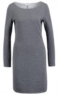 VIEVELYN - Vestito di maglina - medium grey melange