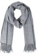 Vero Moda VMSOLID Sciarpa light grey melange