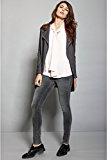 OLTRE: Camicia donna con allacciatura a fiocco, maniche lunghe.