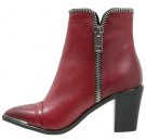 D-EARLHI ZIP - Stivaletti texani / biker - brick red