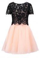 GOTHA - Vestito elegante - black / pink
