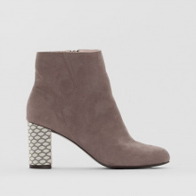 Boots con tacco fantasia