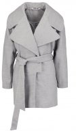NMCANSU - Cappotto corto - light grey melange