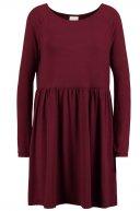 VIKITTA - Vestito di maglina - tawny port