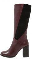 Stivali alti - burgundy/black