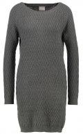 VMPOSH - Vestito di maglia - dark grey melange