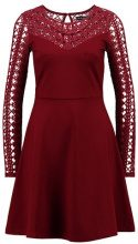 Vestito di maglina - dark red