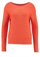 Maglione - lettermen orange