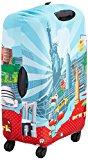 LOQI  - Copri trolley decoro New York, colore azzurro