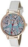 TimeLine Press, LLC R0128.04.2 - Orologio da polso da donna, cinturino in plastica colore bianco