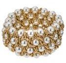 DORINDA - Bracciale - matt gold/pearl