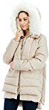 Valuker Cappotto Da Donna Piumino Con Cappuccio Giacca Donna (90% piumino)