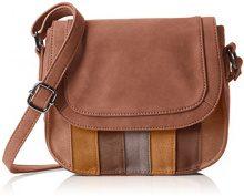 Sansibar Flap Bag - Borse a tracolla Donna, Braun (Taupe), 23x19x7 cm (B x H T)