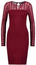 Even&Odd Vestito di maglina dark red