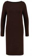 Vestito di maglia - chocolate