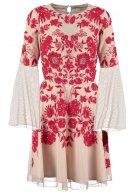 ZELLA - Vestito elegante - nude/red