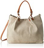 GIULIA MONTI Bags, Clutch Tote Bag Beige
