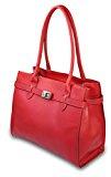 Io.Io.Milioni di italiano vera pelle borsa a mano, stile elegante Midi Kelly color Libera scelta, 33x 25x 15cm (B x H x T)