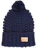 Berydale Cappellino in maglia da donna, forma classica con risvolto