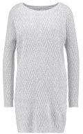 VMPOSH - Vestito di maglia - light grey melange