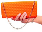 Outlook Design V9G0U02000 Too Chic Pochette, Arancio